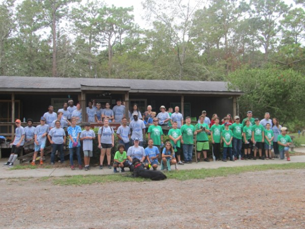 Camden County UGA Extension Partners with Crooked River State Park for 4th Annual River Clean-up