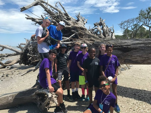 Junior Camp on Jekyll Island