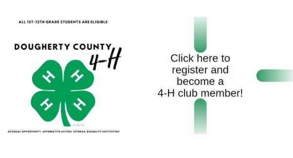 Join Dougherty County 4-H Today!