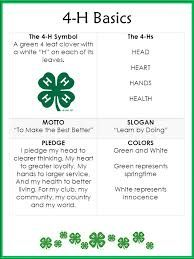 picture regarding Printable 4 H Clover referred to as 4-H Youth Growth Haralson County