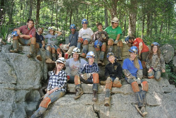 2014 Caving at Racoon Mountain
