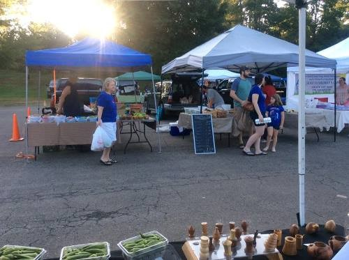 Fresh Veggies, Eggs, and handmade crafts available.