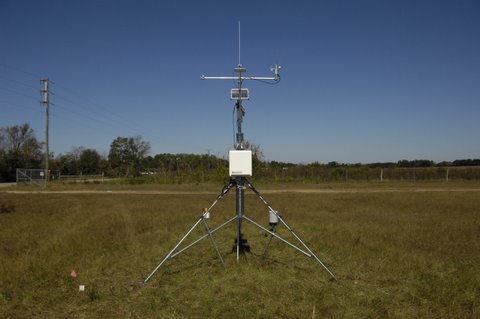 On of the georgia weather network's weather stations