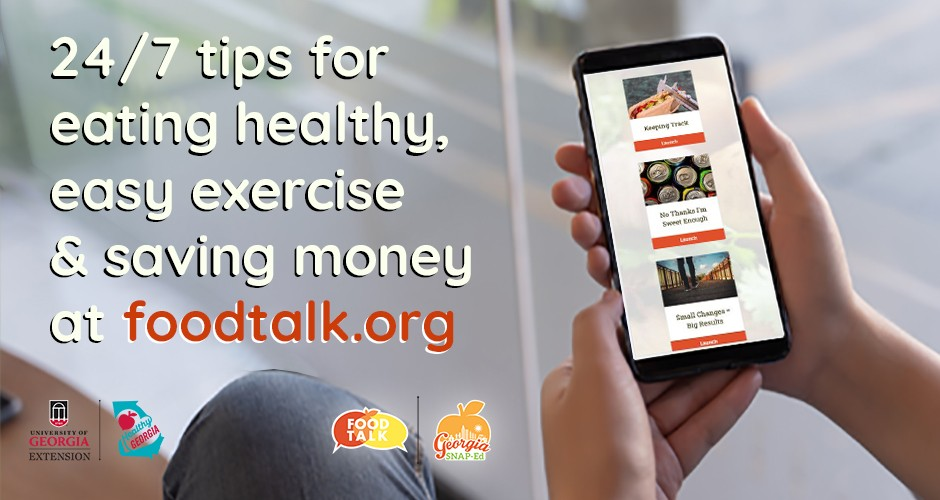 24 7 tips for eating healthy, easy exercise and saving money at foodtalk.org