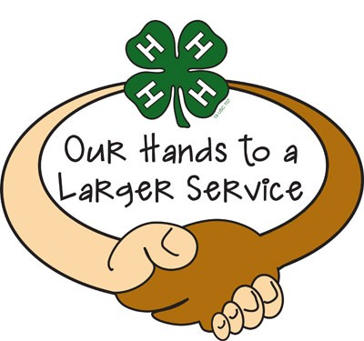 our hands to larger service