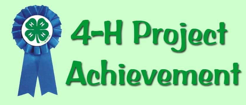 4-H Project Achievement