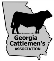 Outline of Stae of GA with Cattleman's text and image